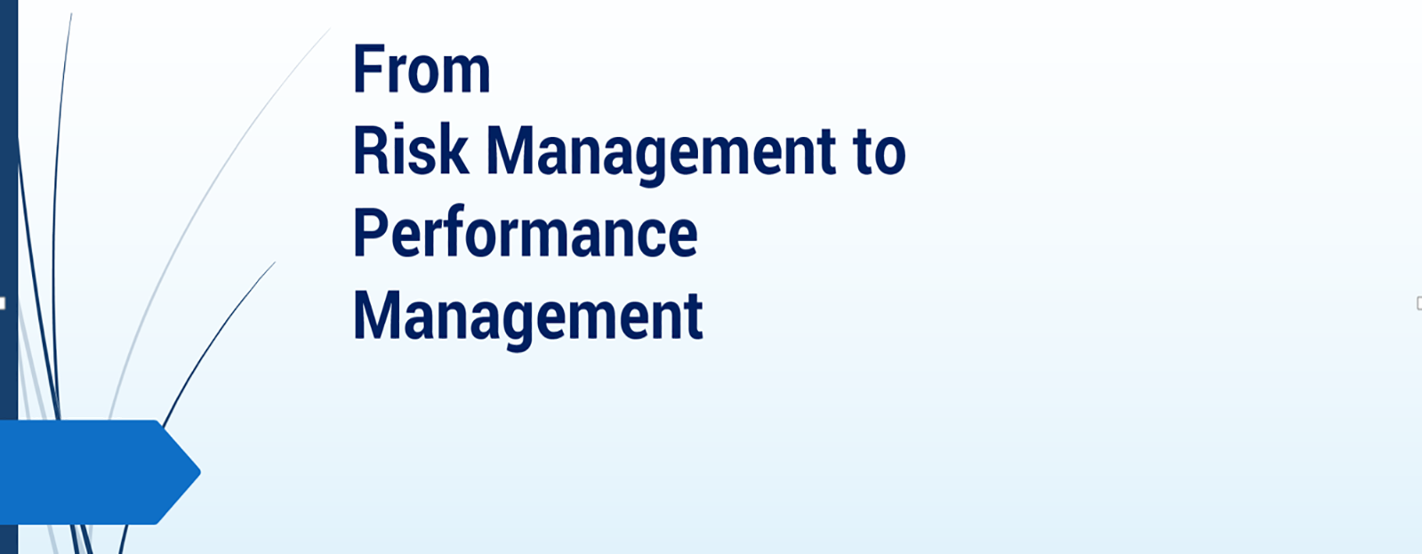 eBook: From Risk Management to Performance Management